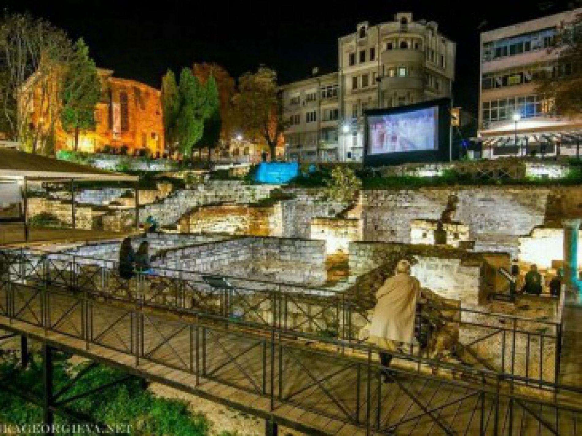 Театрални представления от античния период на сцената на малките римски бани на Варна