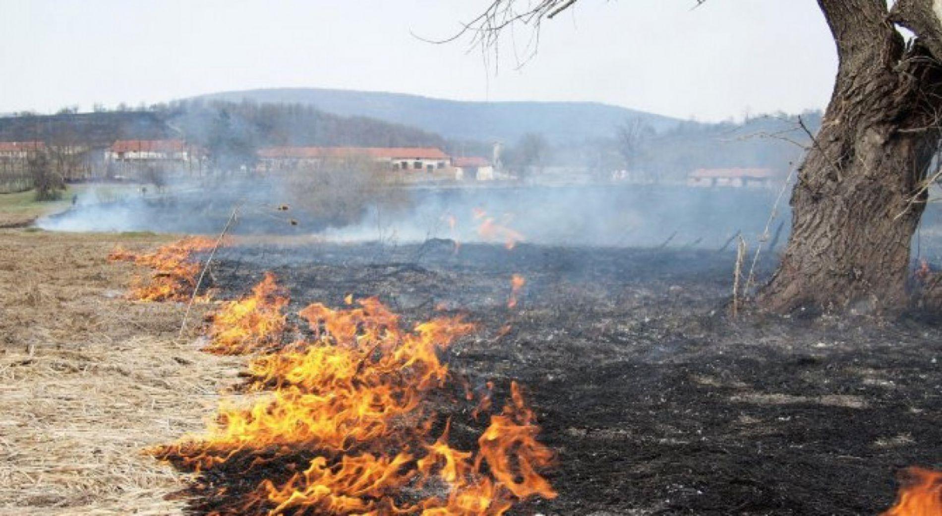 Риск от пожар в 10 региона на страната днес