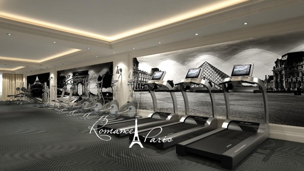 Фитнес в комплекс Романс Париж в Свети Влас България